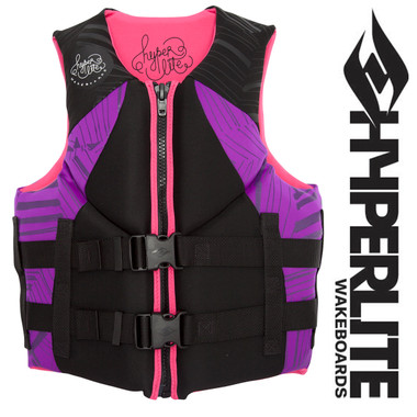 Hyperlite Indy Women's Neo Vest Black/Purple