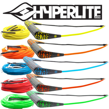 """Hyperlite 15"""" Team Handle with 80' Silicone A-Line"""