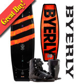 "Byerly Agenda 53"" Wakeboard Package with Trace Boots"