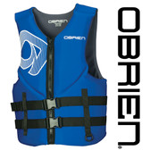 O'Brien Men's Traditional Neo Vest- Blue