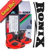 Ronix Code 21 139 cm Wakeboard Package with Cocktail Boots 2016 On Sale!