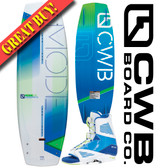 CWB Mode 141 cm Wakeboard Package with Draft Bindings 2016 ON SALE!