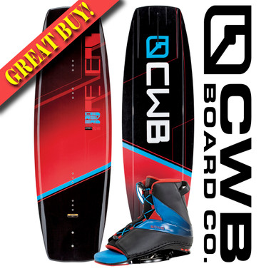 CWB Reverb 141 cm Wakeboard Package with Empire Bindings 2016