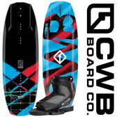 CWB Surge 125 cm Wakeboard Package with Optima Boots