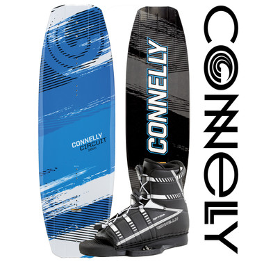 Connelly Circuit 137cm Wakeboard Package with Optima Boots