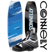 Connelly Circuit 143cm Wakeboard Package with Hale Boots