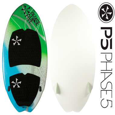 "PHASE5 Superfish 49"" Wakesurfer Hand Painted!"