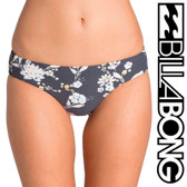 Billabong Festival Floral Capri Bikini Bottom - Black Sands