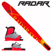 "Radar Women's Butter Knife Slalom 65"" with Lyric Binding & Adj Rear Toe Plate 2017"