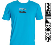 Billabong Chronicle Short Sleeve Surf Tee - New Blue