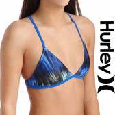 Hurley To Dye For Sport Bra Bikini Top