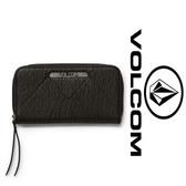 Volcom Pinky Swear Zip Wallet - Black