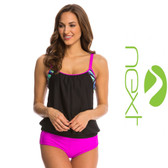 Next Power Thru It Double Up Tankini