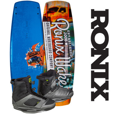 Ronix Code 21 139 cm Wakeboard Package with Cocktail Boots 2017