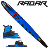 "Radar Alloy Senate 67"" Slalom with Vector Front Boot & Adj. Rear Toe"
