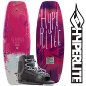 Hyperlite Divine 119 Girl's Wakeboard Package with Jinx Bindings