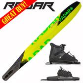 """Radar Butter Knife Slalom 69"""" with Prime Binding & Adj Rear Toe Plate ON SALE"""