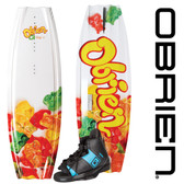 O'Brien Gigi 119 Girl's Wakeboard with Nova Jr. Bindings