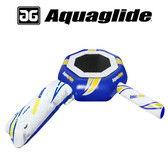 Aquaglide Supertramp 14' Water Trampoline with Swimstep, Blast, & I-Log