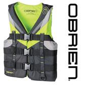 O'Brien Teen Nylon Life Jacket - Lime