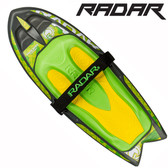 Radar Hawk Kneeboard with Retractable Fins and Hook