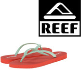Reef Women's Chakras - Coral/Aqua
