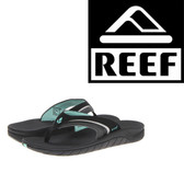 Reef Girls Slap 3 - Black/Aqua