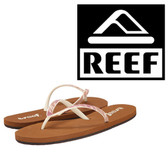 Reef Women's We Heart Stargazer - Tan/Pink