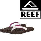 Reef Women's Super Swell Sandal - Brown/Berry