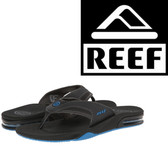 Reef Fanning - Charcoal/Blue Pop