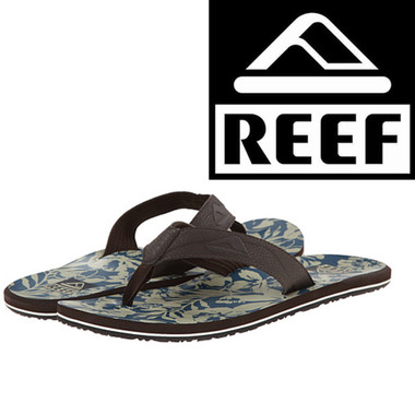 Reef HT Prints - Taupe/Blue Floral