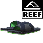 Reef Swellular Slide - Navy/Green