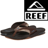 Reef Fanning TX - Dark Brown/Gum