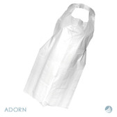 Disposable Plastic / Polythene Aprons (100)