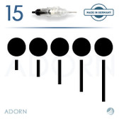 5 Sloped Needle (Box of 15) – for ET Modul / Onix (+ Compatible Machines)
