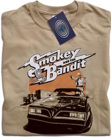 Smokey and the Bandit (Tan) T Shirt