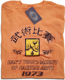 Hans Tournament Enter the Dragon (Tangerine) T Shirt