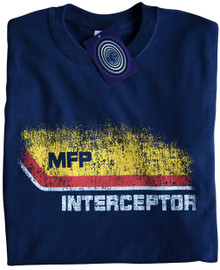 Mad Max Interceptor T Shirt (Navy Blue)