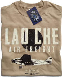Lao Che Air Freight T Shirt (Tan)