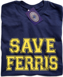 Save Ferris (Blue) T Shirt