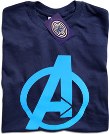 The Avengers (Blue) T Shirt