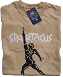 Spartacus (Tan) T Shirt