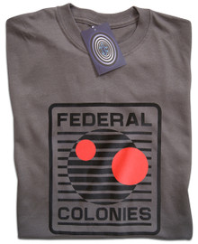 Total Recall Federal Colonies T Shirt