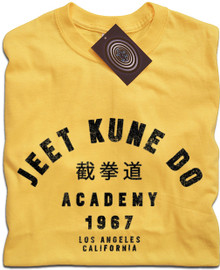 Jeet Kune Do Academy T Shirt (Yellow)