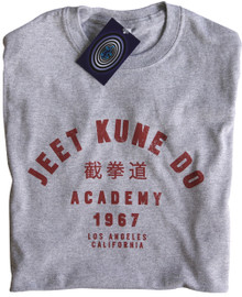 Jeet Kune Do Academy T Shirt (Grey)