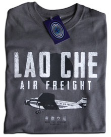 Lao Che Air Freight T Shirt (Grey)