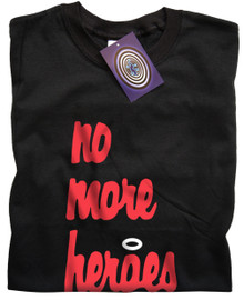 No More Heroes T Shirt (Blk)