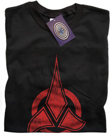 Klingon Symbol T Shirt (Black)
