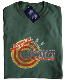 The Outpost (First Blood) T Shirt (Green)