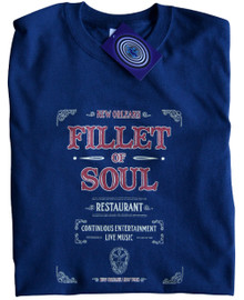 Fillet of Soul (Live and Let Die) T Shirt (Blue)